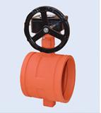 D381X-1.6涡轮沟槽蝶阀